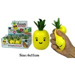 Balle Squeeze Ananas Display de 12