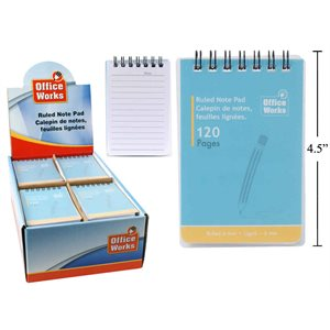Carnet de notes120pages 48 display 3x4.25pouces ##